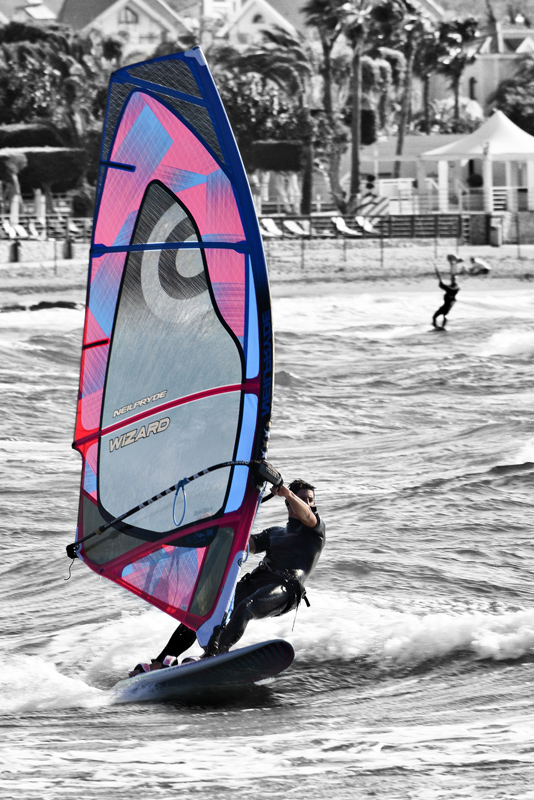 Chris Gibbins - The Wizard Windsurfer