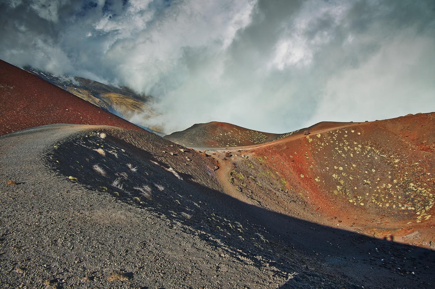 Steve Oakes - Mount Etna Crater