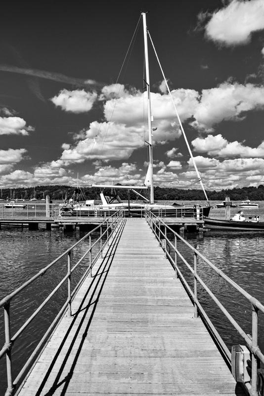 Marina, Bucklers Hard by Chris Gibbins
