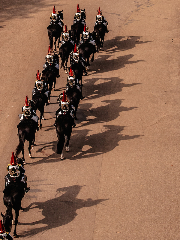 The Horse Guards by Peter Phillips