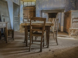 Abandoned Dining Room by Manuela Sprink