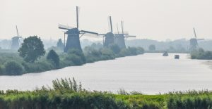 Early Morning at Kinderdijk - Chris Gibbins