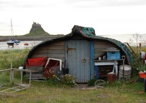 Holy Island Workshed - Roger Holmes
