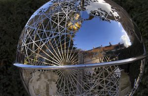 Reflections on a Globe - Dave Buckland