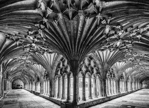 Cloisters by Chris Gibbins