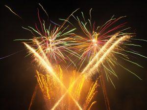 Fantastic Fireworks by Tom Fleming