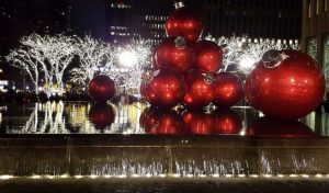Christmas Baubles - Rachel Bishop