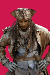 Living Statues - Dave Buckland