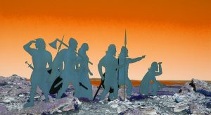 Silhouettes of the Vikings - David Illingworth